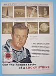 Vintage Ad:1959 Lucky Strike Cigarettes W/bill Lundigan