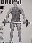 Vintage Ad: 1970 Panther Slimming Suit W/schwarzenegger
