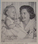 Vintage Ad: 1956 Linit Starch With Mrs. Robert Cummings