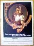 Ad: 1979 Every Which Way But Loose W/clint Eastwood