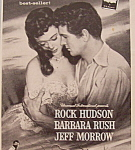 Vintage Ad: 1955 Captain Lightfoot W/ Rock Hudson