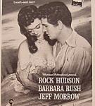 Vintage Ad: 1955 Captain Lightfoot W/ Rock Hudson