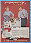 Vintage Ad: 1956 Hotpoint Automatic W/ozzie & Harriet
