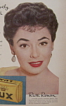 Vintage Ad: 1956 Lux Soap With Ruth Roman