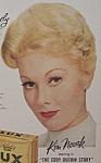 Vintage Ad: 1956 Lux Soap W/ Kim Novak