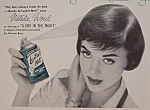 Vintage Ad: 1956 Lustre-net With Natalie Wood