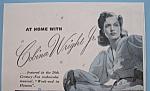 Vintage Ad: 1941 North Star Blanket W/ Cobina Wright Jr