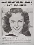 Vintage Ad: 1941 North Star Blanket W/margaret Lindsay