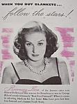 Vintage Ad: 1941 North Star Blanket W/rosemary Lane