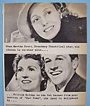 Vintage Ad: 1940 Sinclair Motor Oil W/ Martha Scott