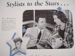 Vintage Ad: 1940 Modern Beauty Shop W/ Perc Westmore