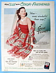 Vintage Ad: 1951 Lux Soap With Gene Tierney