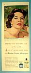 Vintage Ad: 1958 Lustre Creme Shampoo W/ Natalie Wood