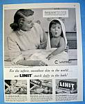 Vintage Ad: 1956 Linit Starch W/ Dorothy Collins