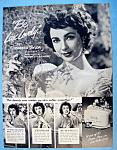 Vintage Ad: 1951 Lux Soap With Elizabeth Taylor