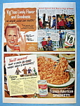 Vintage Ad: 1951 V 8 Vegetable Juice W/ Richard Widmark