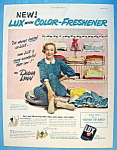 Vintage Ad: 1951 Lux Soap With Diana Lynn