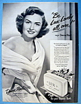 Vintage Ad: 1951 Lux Soap With Donna Reed