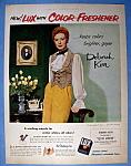 Vintage Ad: 1951 Lux Flakes With Deborah Kerr