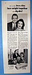 Vintage Ad: 1957 Ayds Reducing Plan W/ Steve Allen