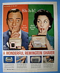 Vintage Ad: 1957 Remington Shaver W/ John Wayne