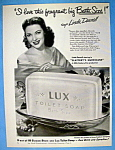 Vintage Ad: 1949 Lux Soap With Linda Darnell