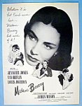 Vintage Ad: 1949 Madame Bovary