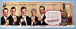 Vintage Ad: 1950 Schenley Whiskey W/cesar Romero & More