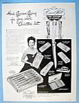 Vintage Ad: 1950 Carvel Hall Cutlery W/ Linda Darnell