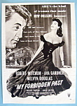 Vintage Ad: 1951 My Forbidden Past