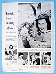 Vintage Ad: 1952 Jergens Lotion W/ Jane Russell