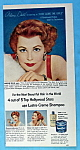 Vintage Ad: 1953 Lustre Creme Shampoo With Arlene Dahl