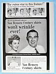 Vintage Ad: 1953 Van Heusen Shirts With Paul Douglas