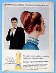 1960 Halo Shampoo With James Darren (Gene Krupa Story)