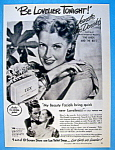 Vintage Ad: 1947 Lux Soap With Jeanette Mac Donald