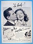1949 Lux Soap With Evelyn Keyes & Glenn Ford