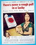 1950 Lucky Strike Cigarettes W/hedy Lamarr As Delilah