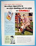 Vintage Ad: 1955 Camel Cigarettes With Rock Hudson