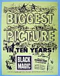 Vintage Ad: 1949 Black Magic