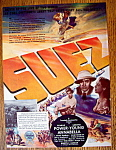 Vintage Ad: 1938 Suez With Tyrone Power