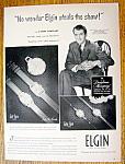 Vintage Ad: 1949 Elgin Watch With James Stewart