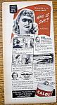 Vintage Ad: 1940 Calox Tooth Powder W/ Anna Neagle