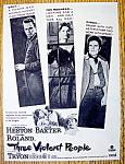 Vintage Ad: 1957 Three Violent People