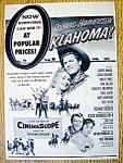 Vintage Ad: 1957 Oklahoma