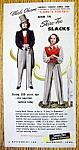 Vintage Ad: 1945 Shire Tex Slacks W/merle Oberon