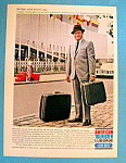 Vintage Ad: 1964 American Tourister Luggage W/bob Hope