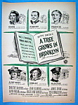 Vintage Ad: 1945 A Tree Grows In Brooklyn