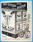 Vintage Ad: 1946 Two Sister From Boston