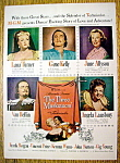 Vintage Ad: 1948 Three Musketeers W/gene Kelly