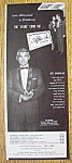 Vintage Ad: 1954 After Six Formalwear W/ Jeff Chandler